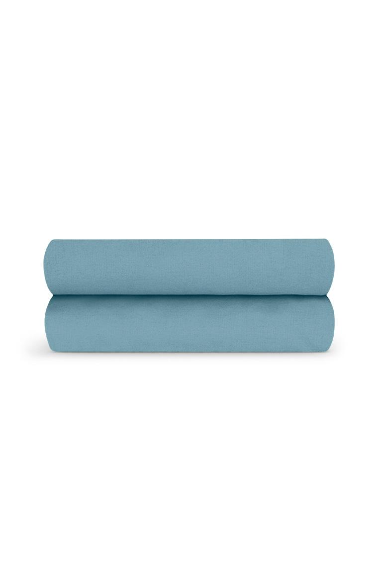 Drap housse*Bleu Chardin