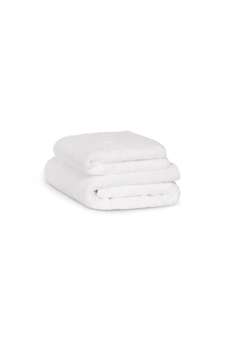 Pack 2 serviettes de bain