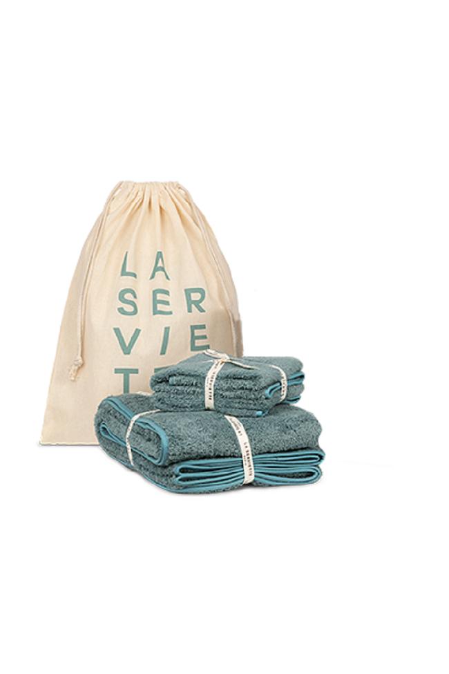 Pack 2 serviettes
