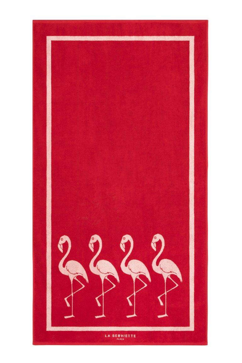Serviette de plage Flamingo