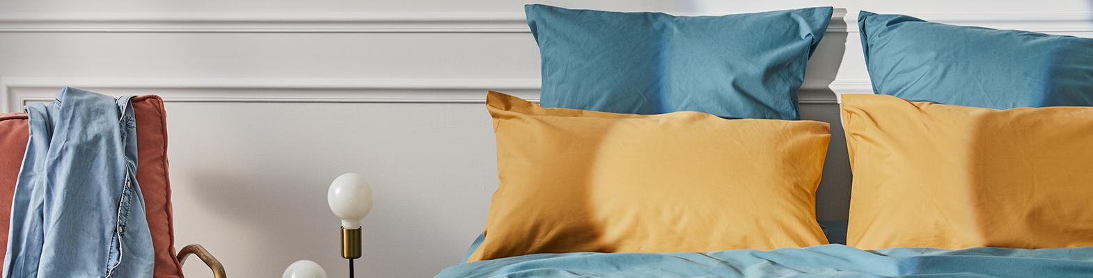 Parures de lit Percale coton égyptien, luxe accessible