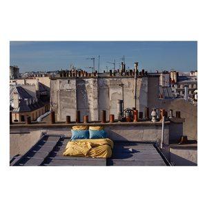 Room for tonight #sacrecoeur #sacreechambre #laservietteparis #homedecor #homelinen #decointerieure #decorationinterieure #lingedemaison  #lingedebain #lingedelit #percaledecoton #houssedecouette #drap #taiedoreiller #lisere #boutique #30rueduvertbois #75003 @laurebernardphotography